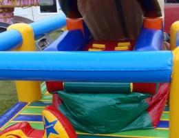 Dmuchany prom kosmiczny - atrakcja dla dzieci na wynajem